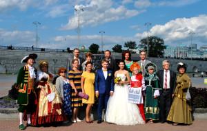 свадебная экскурсия по Екатеринбургу