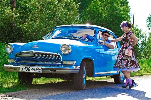 """Экскурсия на ретро автомобиле ГАЗ -21 """"Советский Свердловск"""""""