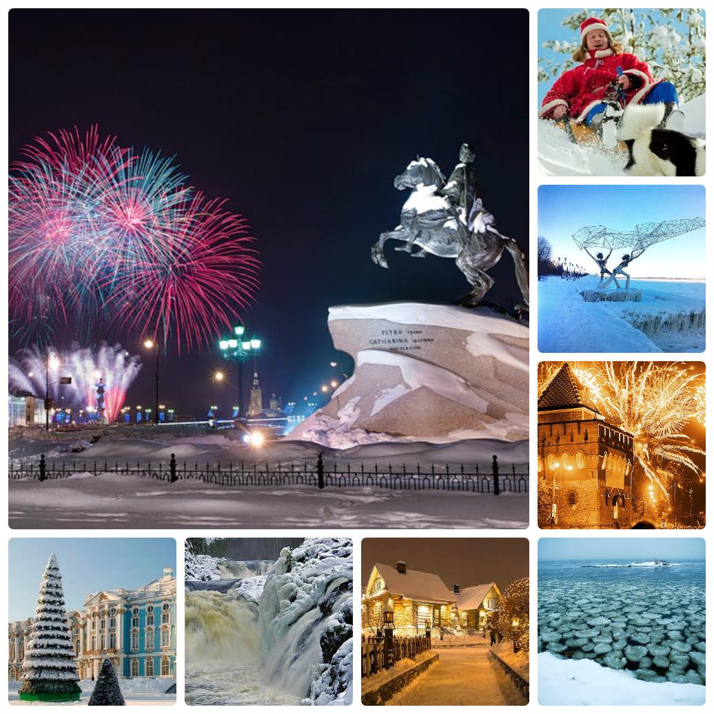 Новогодний автобусный тур из Екатеринбурга в Карелию со встречей Нового Года в Санкт-Петербурге
