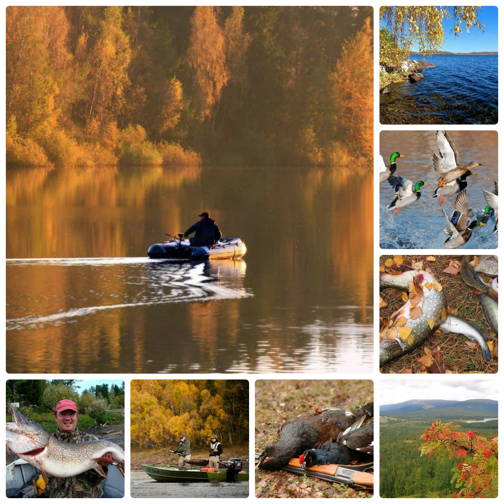 Организованная рыбалка и охота на Северном Урале