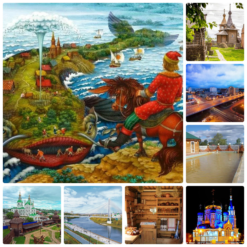 Автобусный тур из Екатеринбурга в Тюмень-Ишим-Омск