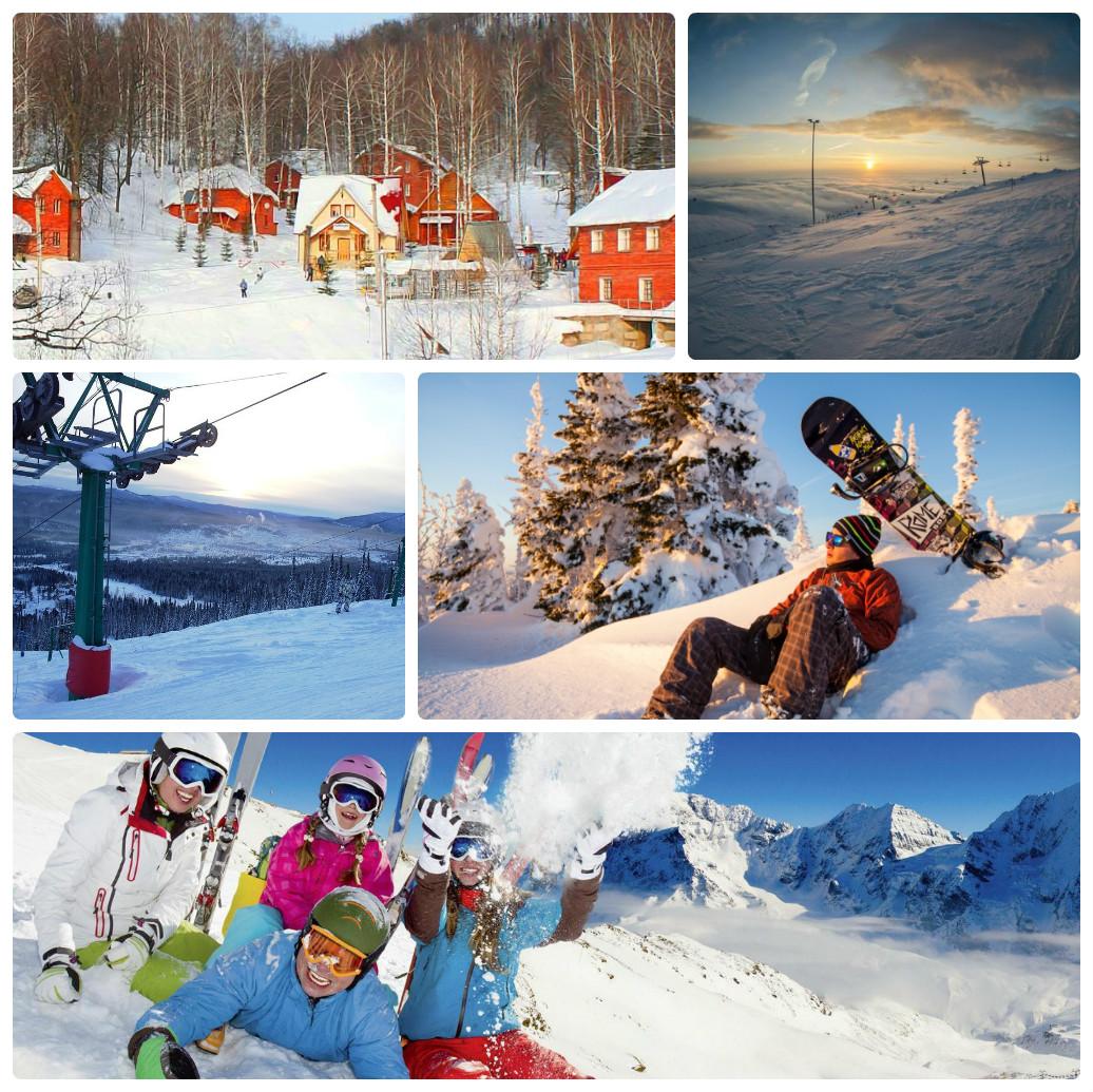 Активный — горнолыжный тур из Екатеринбурга — Аджигардак