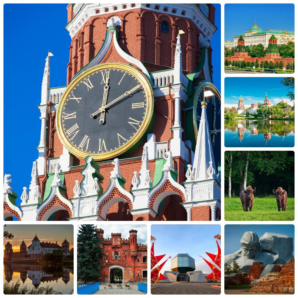 Автобусный тур из Екатеринбурга – Москва + Белоруссия
