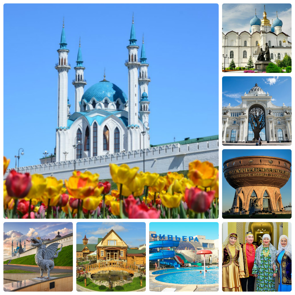 Автобусный тур из Екатеринбурга в Казань + аквапарк
