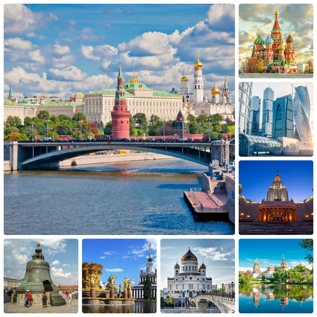 Автобусный тур в Москву из Екатеринбурга     осень / зима