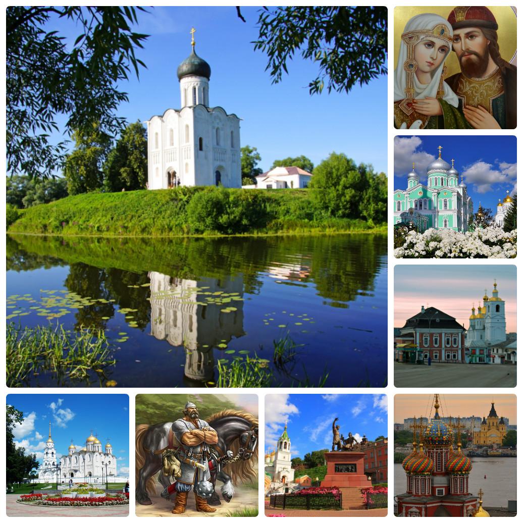 Автобусный тур из Екатеринбурга в Нижний Новгород – Муром-Владимир