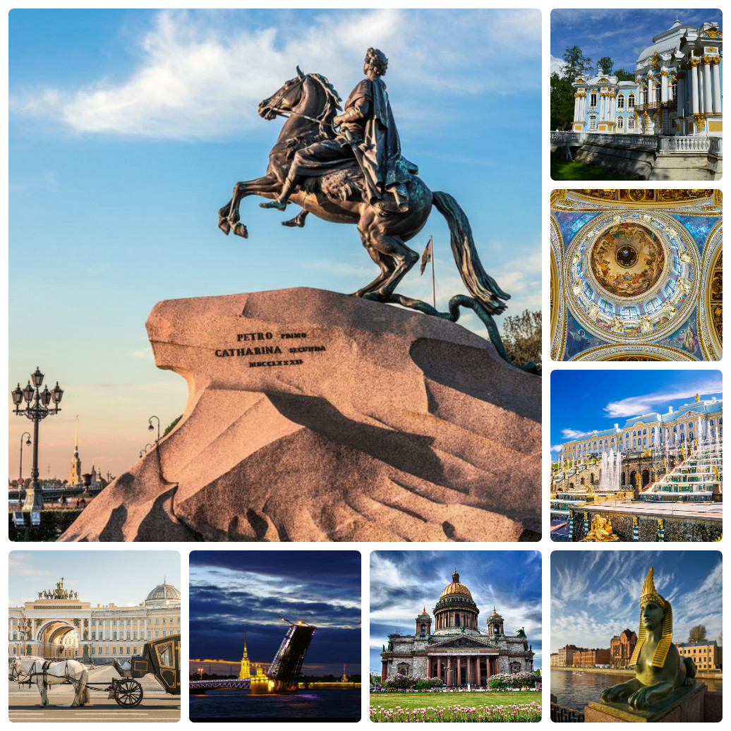 Автобусный тур из Екатеринбурга в Санкт-Петербург
