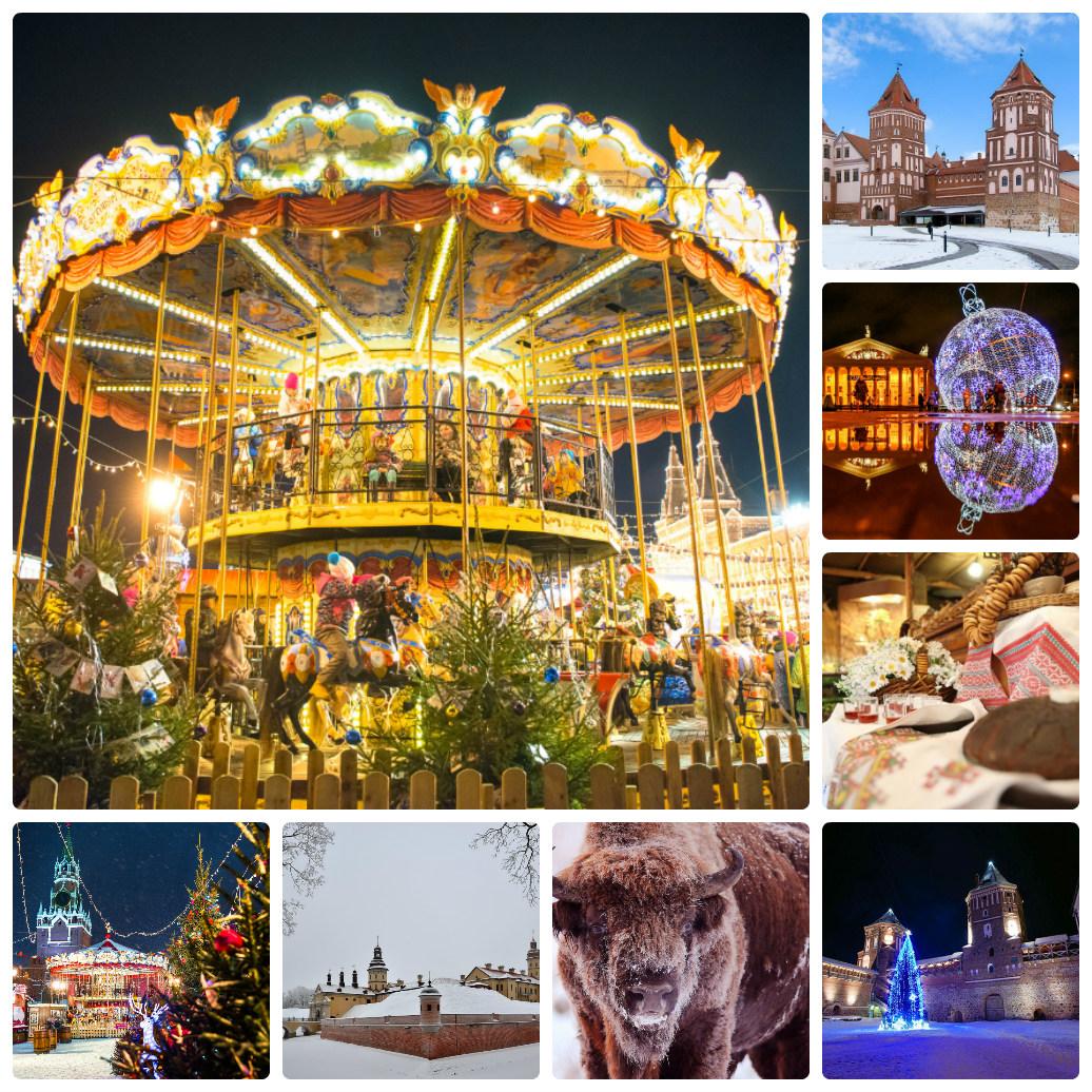 Автобусный тур из Екатеринбурга в Беларусь + Москва  Новый год 2020